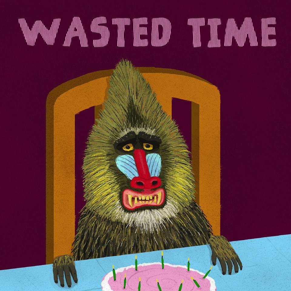 Arte da capa do EP Wasted Time, do Unbelievable Things