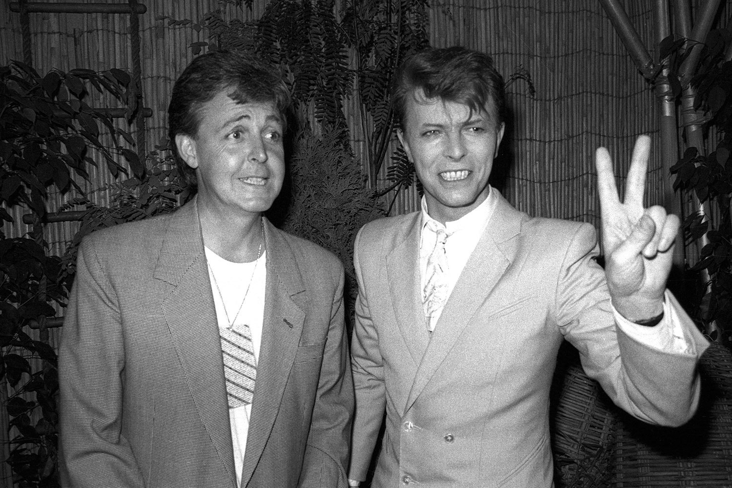 Paul McCartney e David Bowie