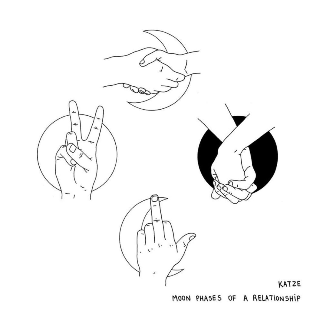 Katze - Moon phases of a relationship
